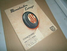 Catalogue  manutention Terrenoire Loire Jac diable roue rayon chariot treuil etc