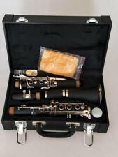 A++Excellent Hard rubber body soprano Clarinet Bb +Case Great sound