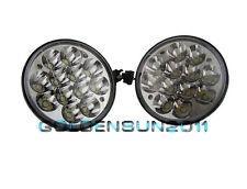"2PCS 5-3/4"" LED HID Cree Light Bulb Headlamp Crystal Clear Sealed Beam Headlight"