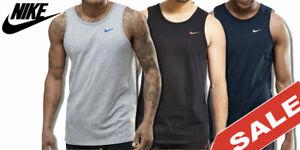 Nike Air Tank Top Jersey Logo T-Shirt Herren Sport Freizeit Shirt NEU SALE