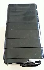 """RAISE ITS Furniture Risers Black 1""""x 4""""x 4"""" (8 count) by Garner Industries"""