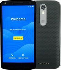 Motorola Droid Turbo 2 32GB Unlocked 4G LTE Smartphone Soft Grip Black XT1585