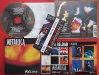 METALLICA RELOAD JAPAN CD with OBI & STICKER SRCS8512