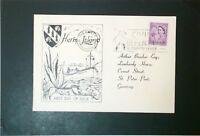 Great Britain 1962 Herm Island Europa Cover - Z3437