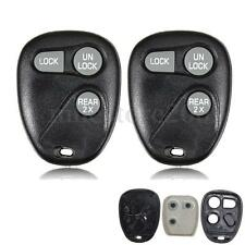 2x Remote Keyless Key Fob Shell Case Cover For GM GMC Chevrolet 16245100-29