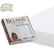 Protector de colchón Altea color blanco, algodón impermeable y 180 cm de ancho