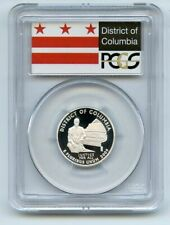 2009 S 25C Silver Washington DC Quarter PCGS PR70DCAM