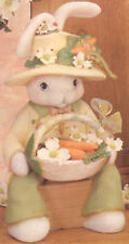 "Ceramic Bisque Ready to Paint Papa Bunny 15.5"" tall"