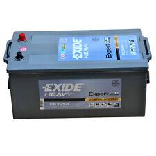 EXIDE Fulman HEAVY EE2253 12V 225AH Starterbatterie für LKW Busse Bau & Landw.
