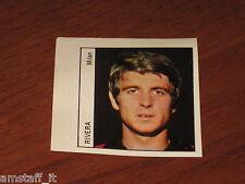 GIANNI RIVERA MILAN=FIGURINA=1970/71=ALBUM FIGURINE CALCIATORI RIVISTA OGGI=