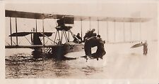 1919 Photograph - Hydroplane Ambulance Picks Up Wounded Soldier in Hudson River