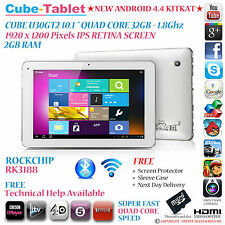 "Cube U30GT2 32GB 10.1 ""Retina IPS RK3188 Quad Core 1.8 Ghz Android 4.4 Tablet PC"