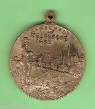 #D59.  CENTENARY OF VICTORIA & MELBOURNE MEDAL 1834/5 to 1934/5