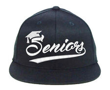 Seniors for Class of, Graduation Embroidered, Snapback Hats