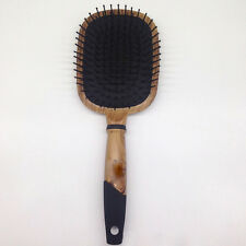 Hot Professional Wooden Paddle Health Cushion Hair Massage Brush Hairbrush Comb