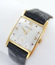 Vintage Breitling HERRENUHR Ref.167 18k Gold 750 Handaufzug