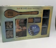 HOT COLD STONE MASSAGE KIT AND BOOK