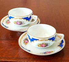 Antique Rosenthal Cups & Saucers 1880's