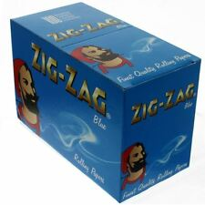Zig Zag Rolling Papers Blue Box Of 100 Booklets
