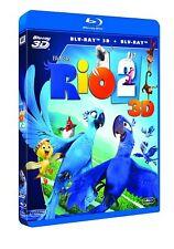 PELICULA BLURAY+3D RIO 2 + FUNDA DE CARTON PRECINTADA