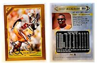 Hardy Nickerson Signed 1997 Topps Gallery #87 Card Tampa Bay Buccaneers Auto