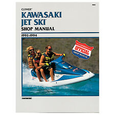 selocs kawasaki personal watercraft 1992 1997 tune up and repair manual