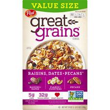 Post Great Grains, Date & Raisin, 19 oz