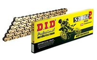 DID 520DZ-120 Gold Chain with Connecting Link (120 Links) YAMAHA/YZ/YZF/CRF/KXF