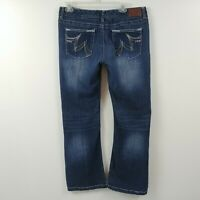 Maurices Womens Jeans Size 13/14 Short Measures 32x30 Original Bootcut Low Rise