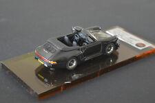 """AMR AMR1110 POSCHE 911 """"STROSEK"""" CABRIOLET 1988 BLACK"""