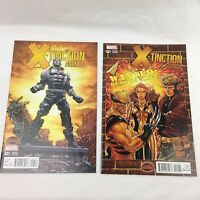 X-Tinction Agenda #1 Lot of 2 Brooks & Deodato 1:25 Cover Variant Marvel Comics