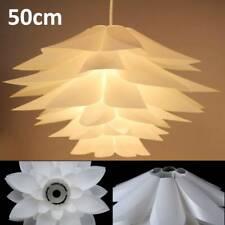 Modern Lotus Lampshade For Chandelier Light Shade Home Cafe Bar Bedroom 50cm