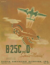 NORTH AMERICAN B-25C AND B-25D MITCHEL - SERVICE AND MAINTENANCE INSTRUCTIONS