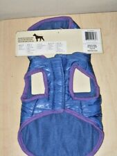 Dog Coat size XXS Blue with hood NEW in Package
