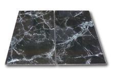 2 x Glas Herd-Abdeckplatte Abdeckung Platte Ceranfeld Induktion Marmor schwarz