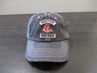 Boston Red Sox Hat Cap Blue Red MLB Baseball Strap Back Adjustable Dad Hat Mens