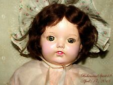 ANTIQUE SIGNED ~HORSMAN~COMPOSITION/CLOTH GIRL ORIGINAL CLOTHS BONNET SHOES DOLL