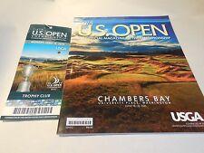 Official Program 2015 U.S. Open Chambers Bay Golf Magazine Championship USGA