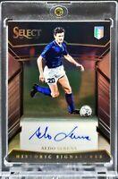 2017 Select Aldo Serena Historic Signatures Auto 54/299 Italy,Juve,Inter Legend!