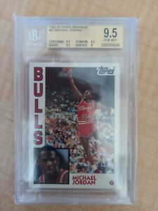 Michael Jordan 1992-93 Topps Archives #52 BGS 9.5 GEM MINT
