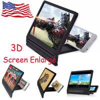 Portable 3D Video Enlarge Smartphone Screen Magnifier HD Amplifier Universal FG