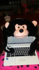 plush animal hat Black Monkey New with Tag Tons more and combined shipping!!