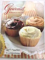 Gourmet Magazine Chocolate And Vanilla Cupcakes February 1992 010517R