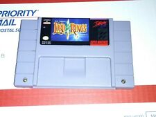Lord of the rings Super Nintendo Game SNES Rare Authentic