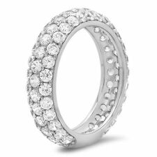 Band Diamond Fine Rings