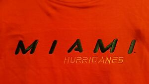 NCAA Miami Hurricane Boys Sleeveless Tee T Shirt