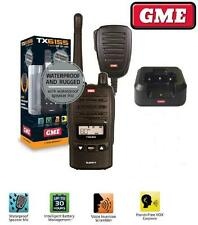 GME TX6155 WATERPROOF DUSTPROOF 5W (REPLACES TX6150) HANDHELD 80 CHANNEL RADIO
