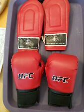 New listing Ufc Red Boxing Gloves 6oz Small