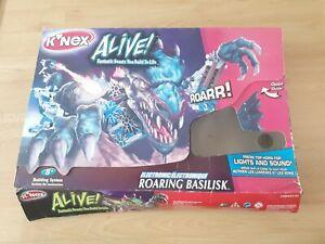 Knex Alive Roaring Basilisk- Age 8+