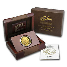 2009-W 1 oz Proof Gold Buffalo Coin - with Box and Certificate - SKU #56888